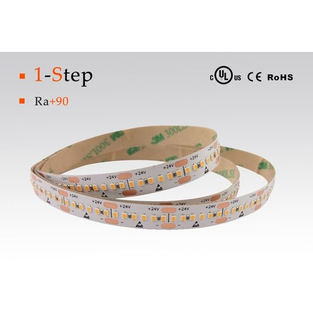 LED strip warm white, 2700 °K, 24 V, 14.4 W/m, IP67, 2216, 1050 lm/m, CRI 90