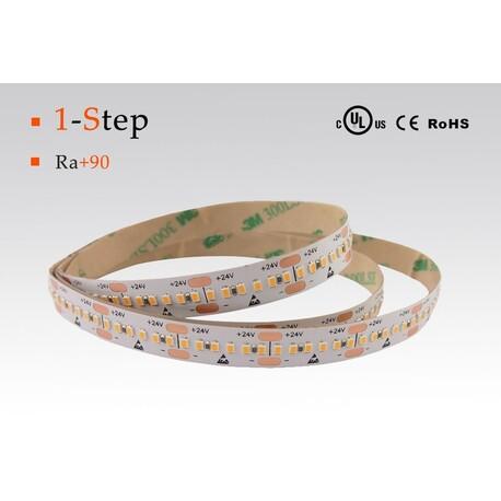LED riba soe valge, 2700 °K, 24 V, 14.4 W/m, IP67, 2216, 1050 lm/m, CRI 90