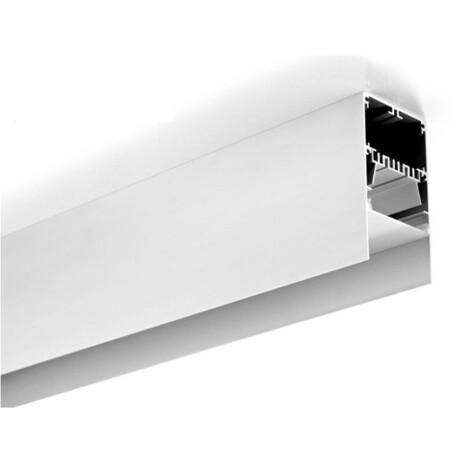 End cap for LED profile A007