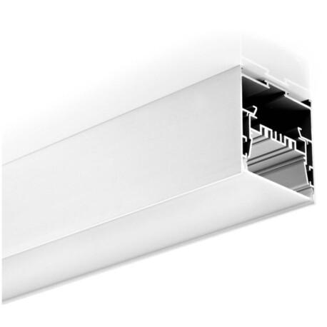End cap for LED profile A037