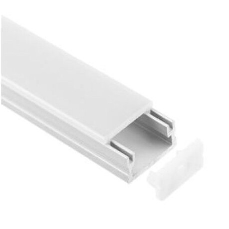 End cap for LED profile A027