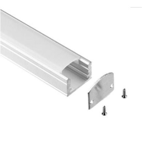 End cap for LED profile A044