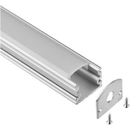 End cap for LED profile A046