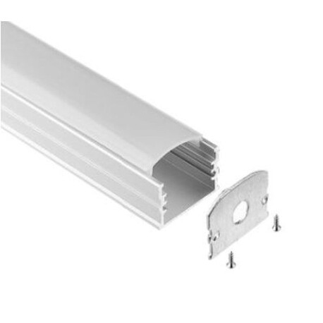 End cap for LED profile A096