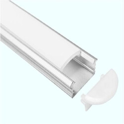 End cap for LED profile B010