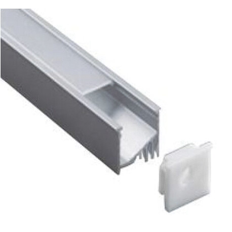 End cap for LED profile B011