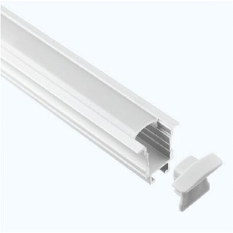 End cap for LED profile B026