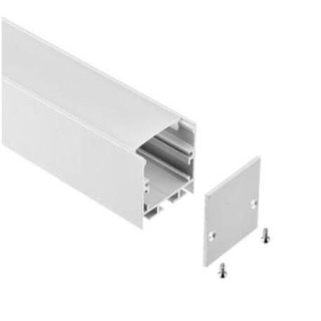 End cap for LED profile C040
