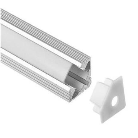 End cap for LED profile D011