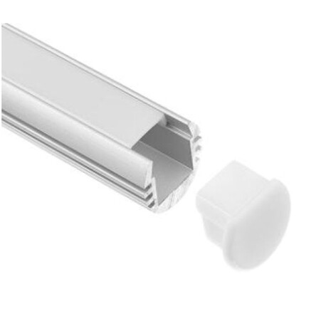 End cap for LED profile G003
