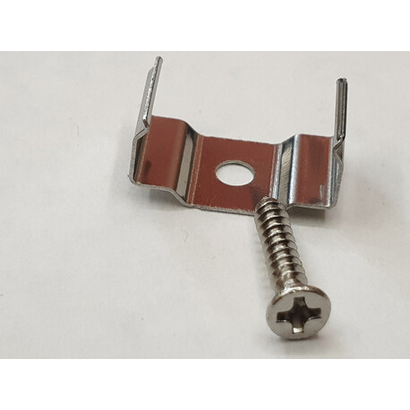 LED profile A034 fixing clip, metal