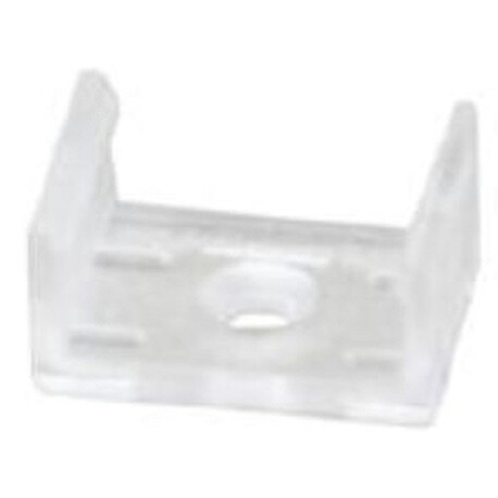 LED profile A037 fixing clip, plastic