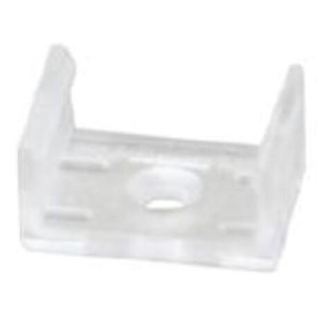 LED profile A037 fixing clip, plastic