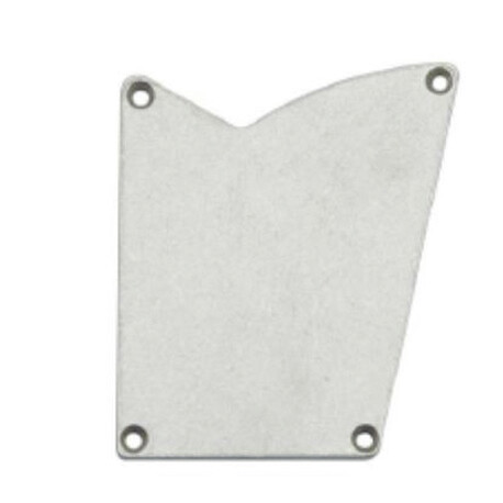 End cap for LED profile A116