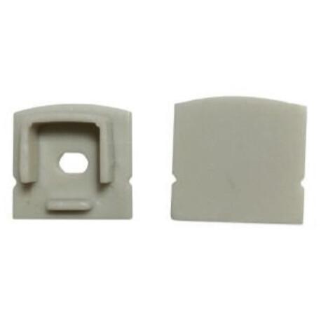 End cap for LED profile C001