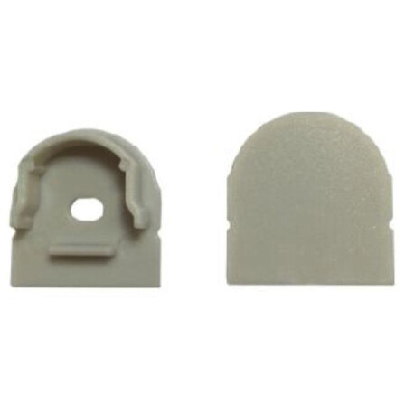 End cap for LED profile C003