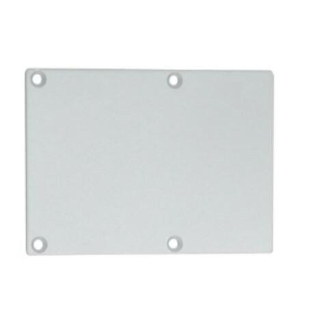 End cap for LED profile C077