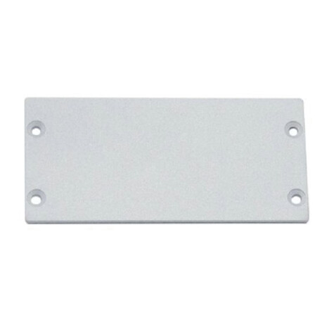 End cap for LED profile C112