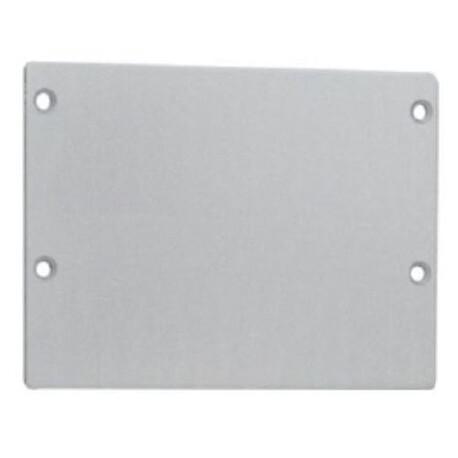 End cap for LED profile C116