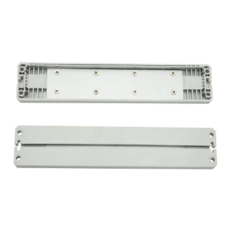 End cap for LED profile C162