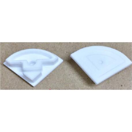 End cap for LED profile D004