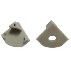 End cap for LED profile D007