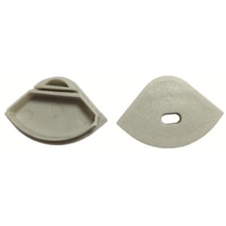 End cap for LED profile D015