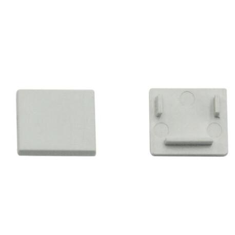 End cap for LED profile D021