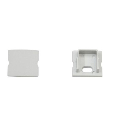 End cap for LED profile F009