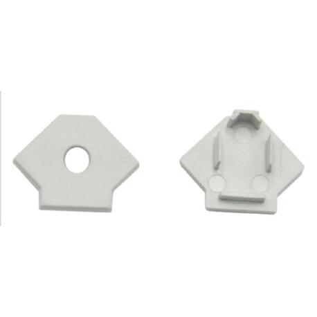 End cap for LED profile F013