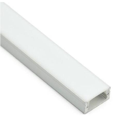 LED profiili A033 pilt, hõbedane