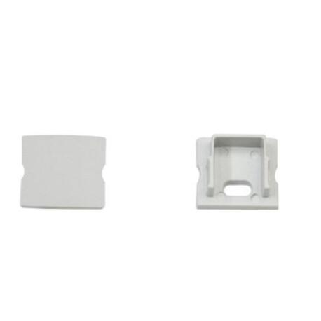 End cap for LED profile F018