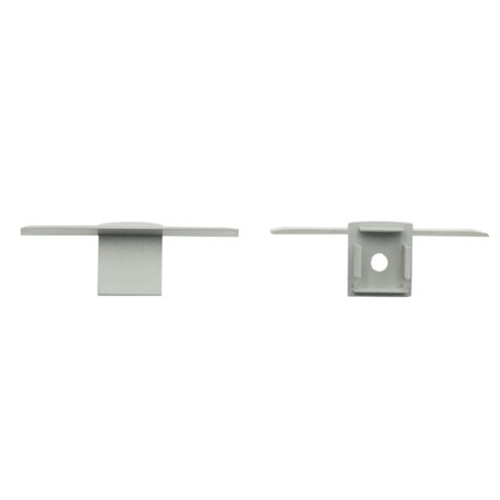 End cap for LED profile F028