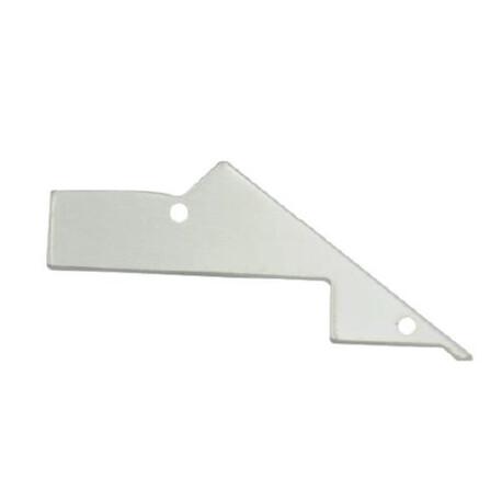 End cap for LED profile F067