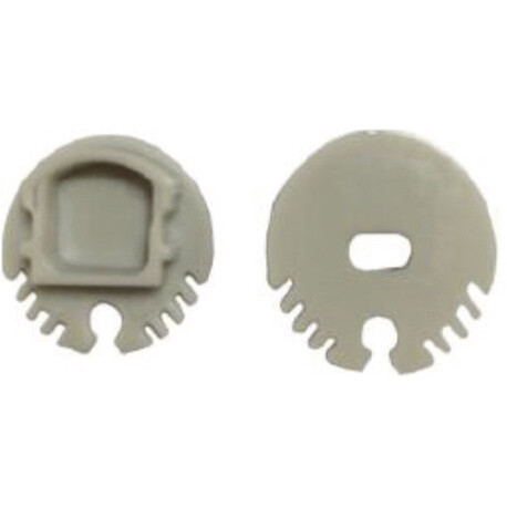 End cap for LED profile G004