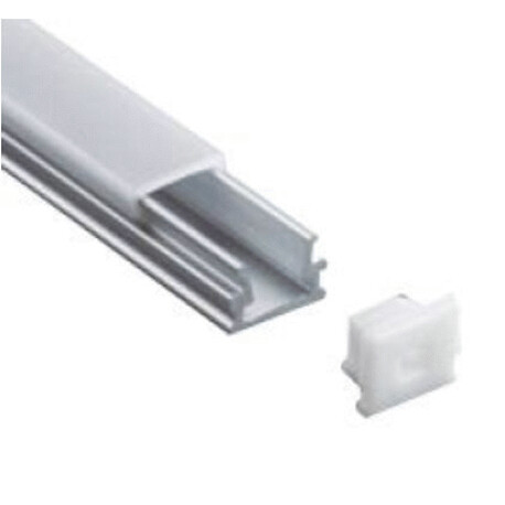 End cap for LED profile A014