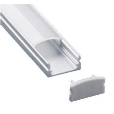End cap for LED profile A047