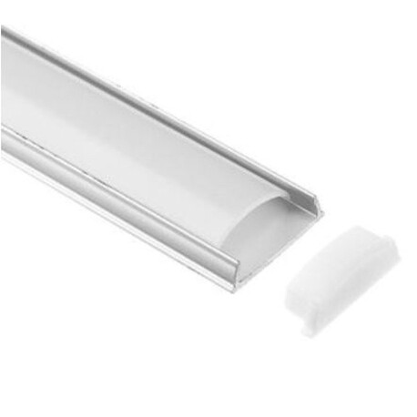 End cap for LED profile A052