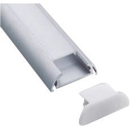 End cap for LED profile A108