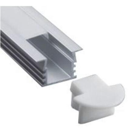 End cap for LED profile B017