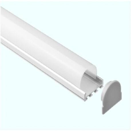 End cap for LED profile C028