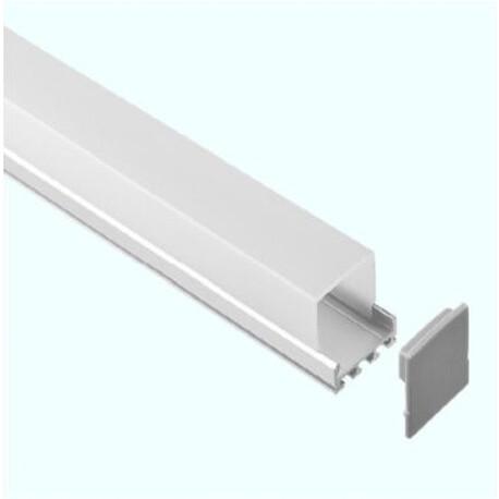End cap for LED profile C029