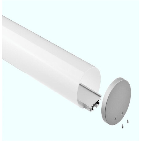 End cap for LED profile G014