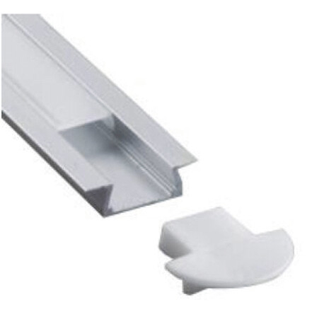 LED profile A025 end cap
