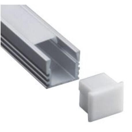 LED profile A028 end cap