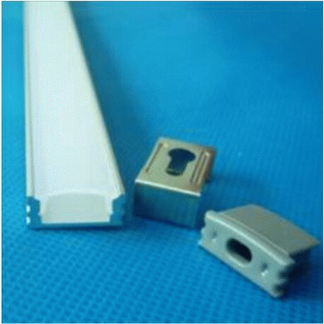 End cap for LED profile A049