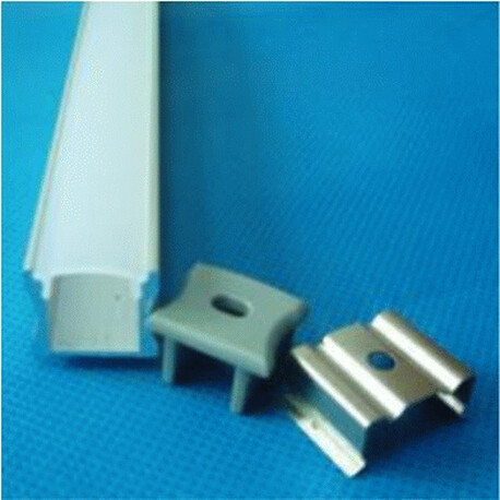 End cap for LED profile A051