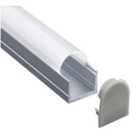 End cap for LED profile A073
