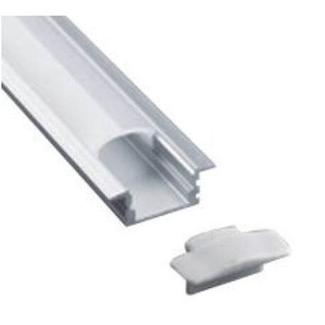 End cap for LED profile B022