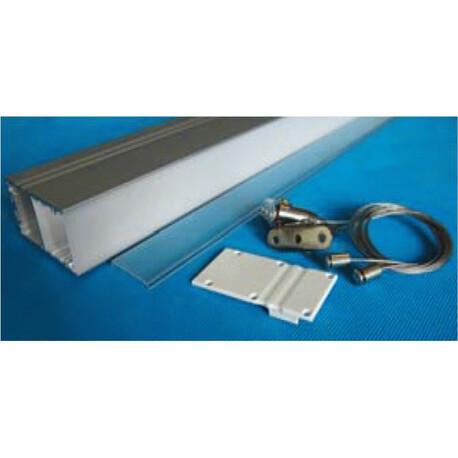 End cap for LED profile C035